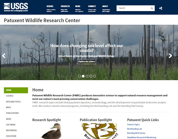 PWRC's new Website